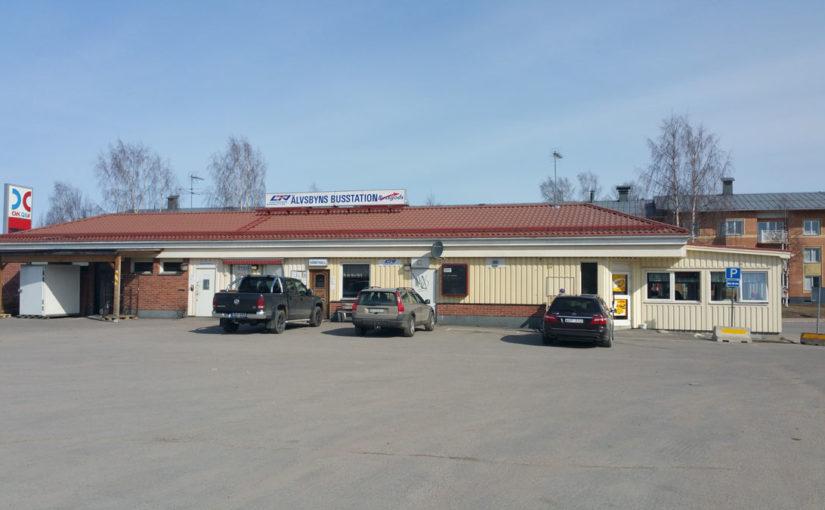 Busstationen Älvsbyn